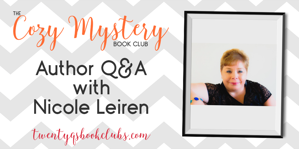 Author Q&A with Nicole Leiren