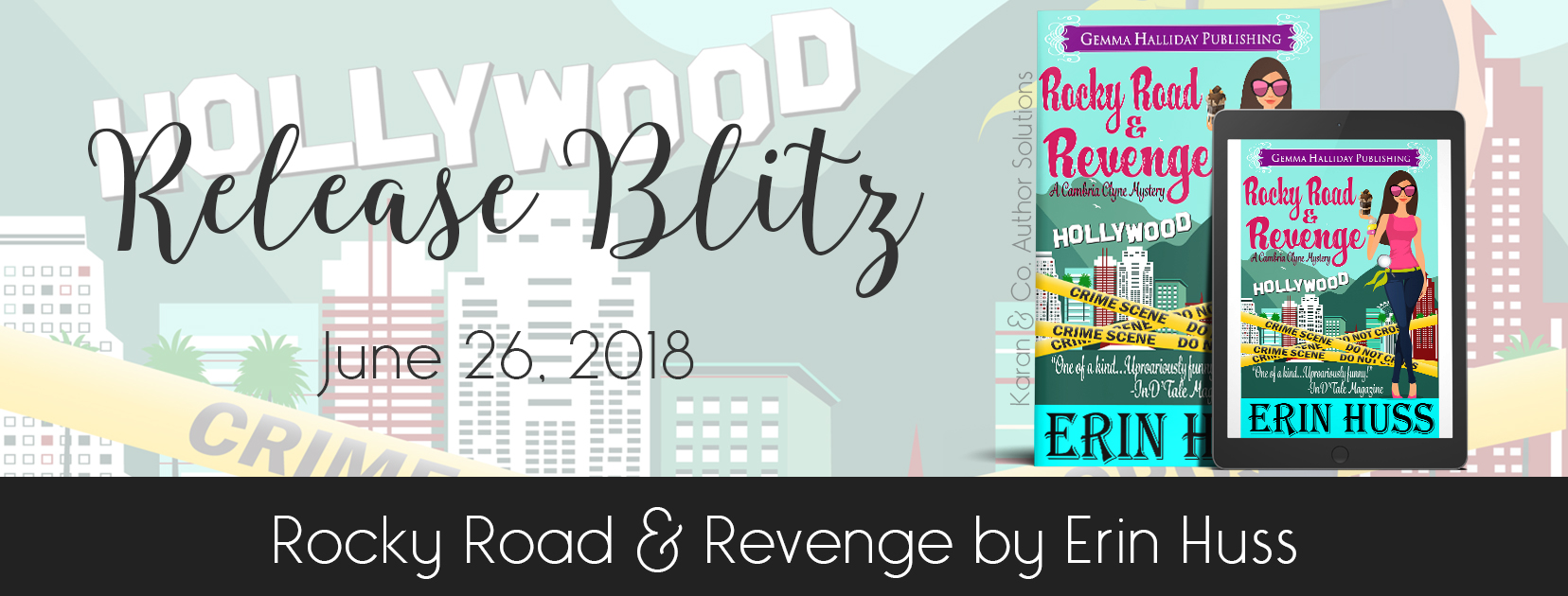 New Release | Rocky Road & Revenge by Erin Huss